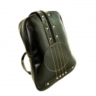 TR0340 Violin Shape Style Fashion Institute Women's Backpack - Black