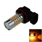 H11 7.5W 400lm Polarity Free 5-LED Yellow Light Car Foglight / Headlamp (12~24V)