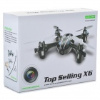X6 2.4G 4-CH Remote Control Quadcopter w/ 0.3MP Camera / Light - Black + Green