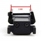 Mini Aluminum Alloy Red Dot Laser Calibrator - Black (3 x AG10)
