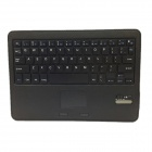 Bluetooth V3.0 64-Key Keyboard w/ Protective PU Leather Case Stand for Samsung Galaxy Tab Pro 10.1