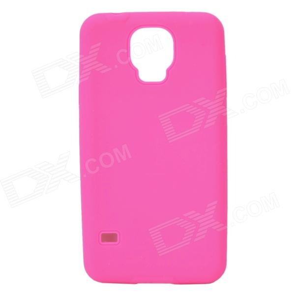 Silicone Protective Back Case for Samsung Galaxy S5 i9600 - Deep Pink