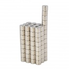 XL-003 6 x 5mm Cylinder Shaped Magnet - Silver (100 PCS)