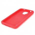 Protective Silicone Back Case for Samsung Galaxy S5 i9600 - Red