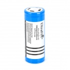 UItraFire 3600mAh Rechargeable Li-ion 26650 Battery w/ Protective IC - Blue + Silver