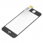 Protective Tempered Glass Screen Guard for IPHONE 5 / 5S / 5C - Transparent + Black