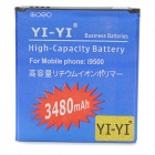 YI-YI 2400mAh Li-ion Battery for Samsung Galaxy S4 / i9500 - Blue