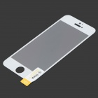 Protective Tempered Glass Screen Guard for IPHONE 5 / 5S / 5C - Transparent + Golden