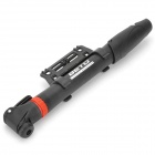 BETO CMP-004 Mini Plastic Rotatable Bike Pump w/ Holder - Black