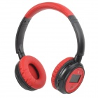 "XF-228 1.3"" LCD Bluetooth V2.1 Stereo Headphones MP3 Player w/ TF / FM / Mic - Crimson (Max. 16GB)"