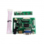 Chuangzhuo 2AV + VGA + HDMI 1.1 Driving Board for Raspberry Pi / Pcduino / Cubieboard - Green