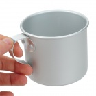 Outdoor Aluminum Water Cup - Silvery Grey