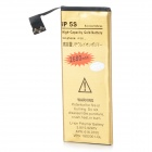 Replacement 3.8V 2200mAh Dual Cell Li-ion Battery for IPHONE 5S - Golden