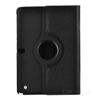 360° Rotary Protective Flip Open PU Case w/ Stand for 10.1'' Samsung T520 Galaxy Tab Pro