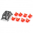 WLtoys V272 ABS Replacement R/C Helicopter Body Frame w/ Motor Case for V272 / H111 - Black + Red