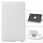 360 Degree Rotary Protective Flip Open Case w/ Stand for 8.4'' Samsung T320 Galaxy Tab Pro - White