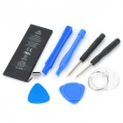 "3.8V ""1440mAh"" Li-ion Battery w/ Repairing Tool Set for IPHONE 5 - Black + Blue"