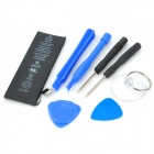 "3.8V ""1510mAh"" Li-ion Battery w/ Repairing Tool Set for IPHONE 5C - Black + Blue"