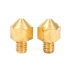 0.2mm Brass Nozzle Head for 3D Printer Ultimaker - Brass (2 PCS)