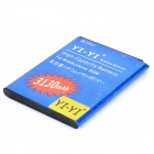YI-YI High Capacity 3.7V 2200mAh Li-ion Battery for Samsung Galaxy S4 i9300 - Blue