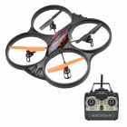 Xinxun X39 4-Axis 6-CH Remote Control UFO Flyer / Rollable R/C Aircraft for Children - Black