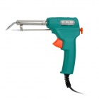 60W Handheld Electric Soldering Gun - Army Green + Silver