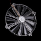 WT-003 20cm Double Joint Chassis Fan w/ Red Light (DC 12V)