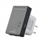 DX original 300Mbps wireless-n mini roteador - preto (UE plug)