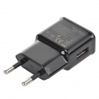 5V 2000mA EU Plug Power Charging Adapter - Black (100~240V)