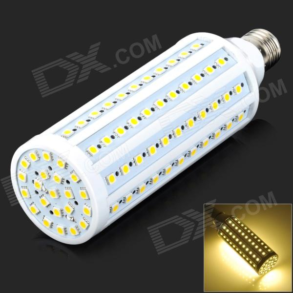 Fengyangdengshi 017 E27 20W 600lm 3000K 132-5050 SMD LED Warm White Light LED Corn Lamp (AC 220V) ce emc lvd fcc commercial ozonizer multi function ozone sterilizer
