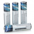 SOFIRN 750mAh Rechargeable Ni-MH AAA Battery - Black + Milky White (4 PCS)