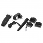 HD-8802 50W Electric Push-Type Switch Hair Clipper - Pearl White + Black