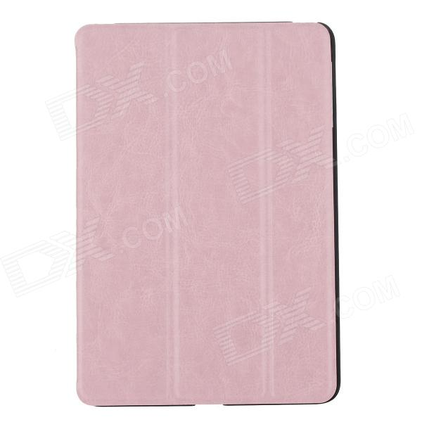 Ultra Thin PU Leather Case Cover Stand w/ Auto Sleep for RETINA IPAD MINI / IPAD MINI - Pink top quality hot selling fashion design anchors pattern flip stand leather case cover for ipad mini 2 retina jul 12