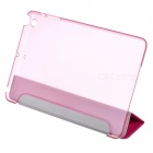 Ultra Thin PU Leather Case Cover Stand w/ Auto Sleep for RETINA IPAD MINI / IPAD MINI - Deep Pink