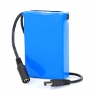 DC-12300 12.6V 1500mAh Rechargeable Li-ion Polymer Battery - Blue + Black