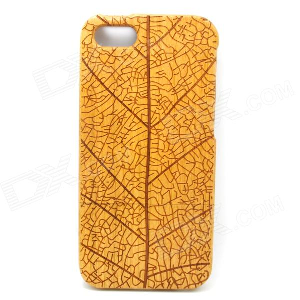 Branch Pattern Detachable Protective Wood Back Case for IPHONE 5 / 5S - Wood