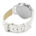 Zhongyi z-819 Woman's Stylish Classic Analog Quartz Wristwatch - White + Silver (1 x 626)