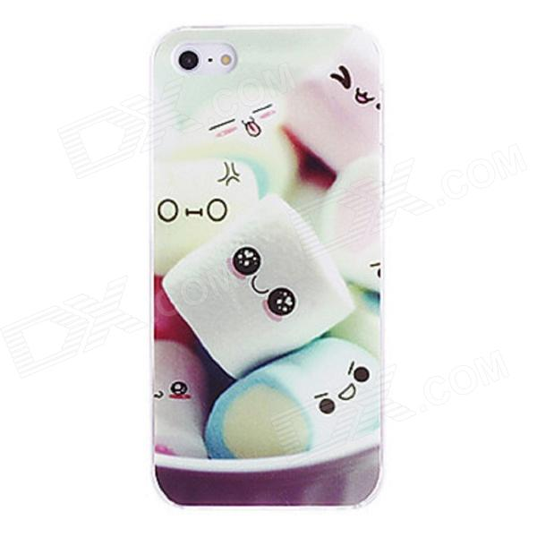 Kinston Cute Marshmallow Pattern PC Hard Case for IPHONE 5 / 5S - Green + White защитный чехол pacha sunrise cherries hard case для iphone 5