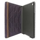 Double Side Protective Cotton + PU Leather Case Cover Stand w/ Auto Sleep for RETINA IPAD MINI