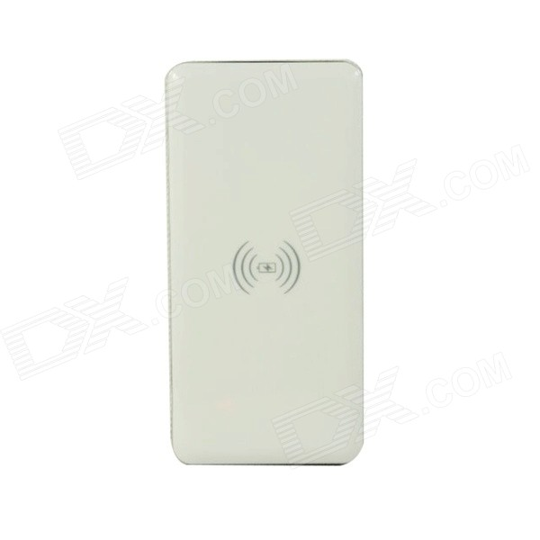Itian WP-800 Qi Wireless 10000mAh Mobile Power Bank - белый + серебристый