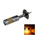 H1 7.5W 400lm 5-COB LED Yellow Light Polarity Free Car Foglight / Headlamp / Tail Light (12~24V)