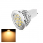 GU10 5W 180lm 3000K 16 x SMD 5630 LED Warm White Light Lamp Bulb - White (AC 220~240V)