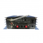 Kinrener SH2001 2-CH 160W Hi-Fi Amplifier MP3 Player w/SD, USB, AUX, FM for Car, Motorcycle, Home
