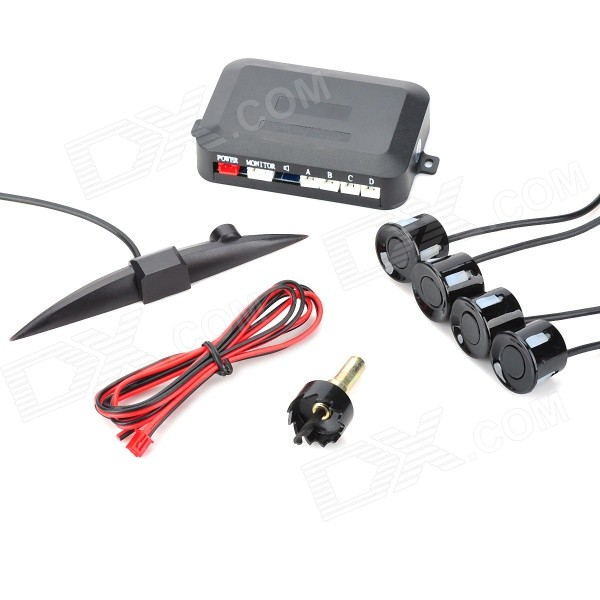 XY-5301 Intelligent Parking Assistance System Parking Sensor w/ Four Sensors - Black High Point Цены на вещи