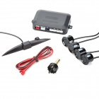 XY-5301 Intelligent Parking Assistance System Parking Sensor w/ Four Sensors - Black