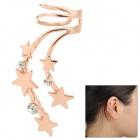 SHIYING d07301 Star Style Ear Bone Clip for Women - Golden + Translucent White
