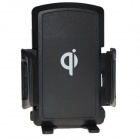 FULANKA LET120 QI Standard Wireless Charger Stand Holder w/ Car Charger - Black