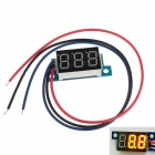 "YB01 3-Digit 0.36"" LED Yellow Digital Display Module for Electric Motorcycle / Car - Multicolored"