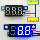 "YB04 3-Digit 0.36"" LED BlueDigital Display Module for Electric Motorcycle / Car - Multicolored"