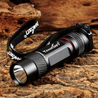 TANK007 TK360 Mini 180lm 1-LED 1-Mode Memory Flashlight - Black (1 x CR123)